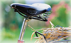 Arrangement für Radler, Fahrradarrangement, Übernachtung für Radfahrer